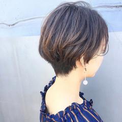 オフィス ガーリー デート ロブ ヘアスタイルや髪型の写真・画像