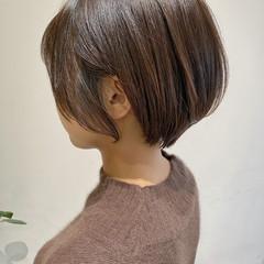 ナチュラル ベリーショート ショートヘア 大人ショート ヘアスタイルや髪型の写真・画像