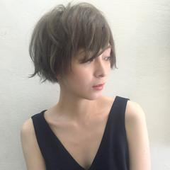 黒髪 アッシュ モード マッシュ ヘアスタイルや髪型の写真・画像