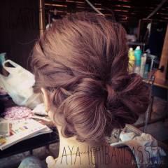 大人かわいい ヘアアレンジ ガーリー 結婚式 ヘアスタイルや髪型の写真・画像