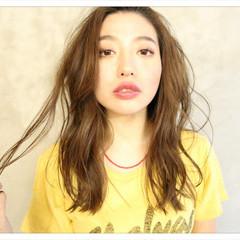 モテ髪 ミルクティー 外国人風 エレガント ヘアスタイルや髪型の写真・画像