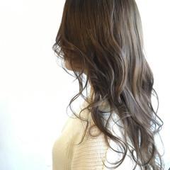 外国人風 ガーリー ニュアンス ハイライト ヘアスタイルや髪型の写真・画像