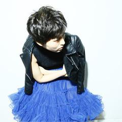 外国人風 大人かわいい 黒髪 モード ヘアスタイルや髪型の写真・画像