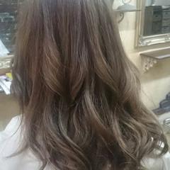 グラデーションカラー 外国人風 ハイライト ガーリー ヘアスタイルや髪型の写真・画像