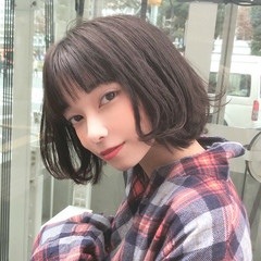 ナチュラル 韓国ヘア 大人女子 韓国 ヘアスタイルや髪型の写真・画像