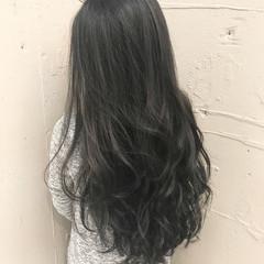 ロング 黒髪 デート 簡単ヘアアレンジ ヘアスタイルや髪型の写真・画像