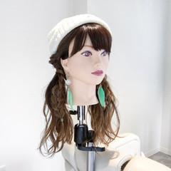 女子会 ツインテール ナチュラル 三つ編み ヘアスタイルや髪型の写真・画像