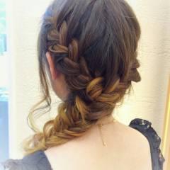 パンク ストリート 外国人風 ヘアアレンジ ヘアスタイルや髪型の写真・画像
