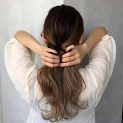 夏 シースルーバング 渋谷系 外国人風 ヘアスタイルや髪型の写真・画像