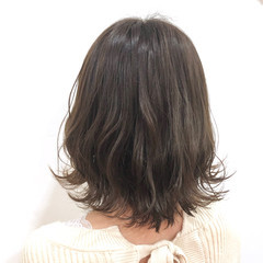 アンニュイほつれヘア ミディアム ゆるふわ 大人かわいい ヘアスタイルや髪型の写真・画像