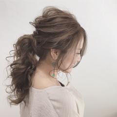 外国人風 上品 エレガント 秋 ヘアスタイルや髪型の写真・画像