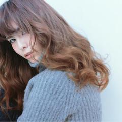 前髪あり ストリート アッシュ ハイライト ヘアスタイルや髪型の写真・画像
