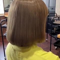ブリーチカラー デート ナチュラル 透明感カラー ヘアスタイルや髪型の写真・画像