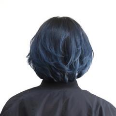 外国人風 グラデーションカラー ショート ブルージュ ヘアスタイルや髪型の写真・画像