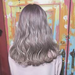 モード グラデーションカラー ブリーチ ヘアアレンジ ヘアスタイルや髪型の写真・画像