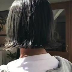 大人かわいい 外ハネ ボブ フェミニン ヘアスタイルや髪型の写真・画像