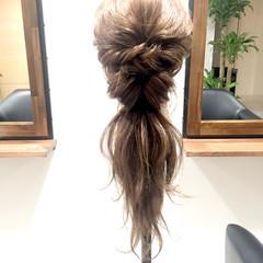 外国人風 上品 大人かわいい ロング ヘアスタイルや髪型の写真・画像