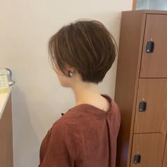 ショートボブ ショートヘア ショート ベリーショート ヘアスタイルや髪型の写真・画像