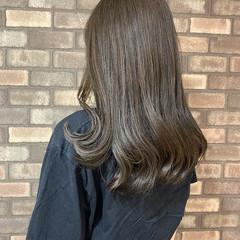 透明感 艶髪 アディクシーカラー ナチュラル ヘアスタイルや髪型の写真・画像