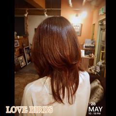 艶髪 セミロング 大人女子 小顔 ヘアスタイルや髪型の写真・画像