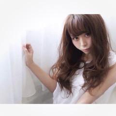 フェミニン 大人かわいい ガーリー ロング ヘアスタイルや髪型の写真・画像