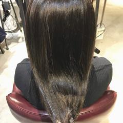 大人ロング セミロング oggiotto アッシュグレージュ ヘアスタイルや髪型の写真・画像