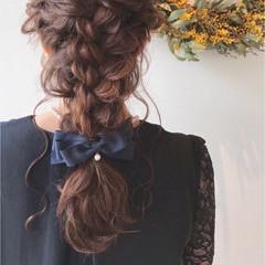 成人式 パーティ フェミニン 結婚式 ヘアスタイルや髪型の写真・画像