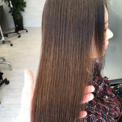 デート 髪質改善トリートメント 縮毛矯正 最新トリートメント ヘアスタイルや髪型の写真・画像