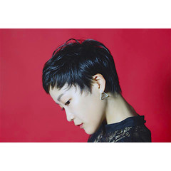ウェットヘア ベリーショート ショート 黒髪 ヘアスタイルや髪型の写真・画像