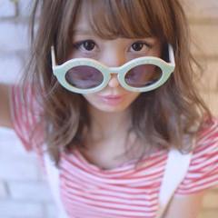 フェミニン ゆるふわ ガーリー ピュア ヘアスタイルや髪型の写真・画像