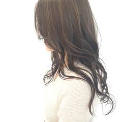 外国人風 外国人風カラー ロング エレガント ヘアスタイルや髪型の写真・画像