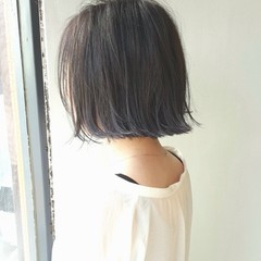 グラデーションカラー アッシュ ハイライト ガーリー ヘアスタイルや髪型の写真・画像