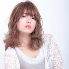 透明感 デート パーマ 色気 ヘアスタイルや髪型の写真・画像