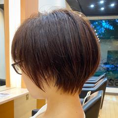 ショートボブ 大人ショート 小顔ショート ショートヘア ヘアスタイルや髪型の写真・画像