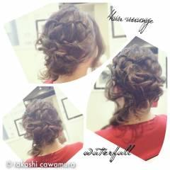 コンサバ モテ髪 結婚式 ハーフアップ ヘアスタイルや髪型の写真・画像