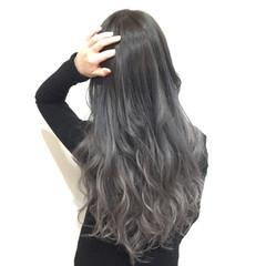 ロング 上品 外国人風 ブリーチ ヘアスタイルや髪型の写真・画像