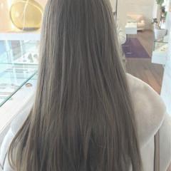 ロブ ロング デート アウトドア ヘアスタイルや髪型の写真・画像