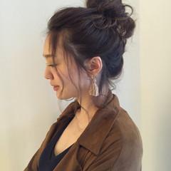 ヘアアレンジ 大人かわいい 外国人風 簡単ヘアアレンジ ヘアスタイルや髪型の写真・画像