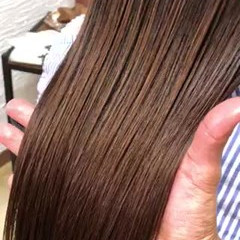 ロング 髪質改善 艶髪 縮毛矯正 ヘアスタイルや髪型の写真・画像