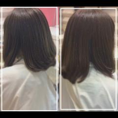 大人ヘアスタイル ナチュラル 艶髪 髪質改善 ヘアスタイルや髪型の写真・画像