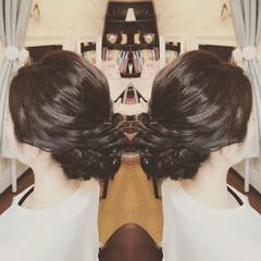 上品 大人かわいい エレガント ヘアアレンジ ヘアスタイルや髪型の写真・画像
