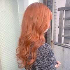 韓国 韓国風ヘアー 韓国ヘア ロング ヘアスタイルや髪型の写真・画像