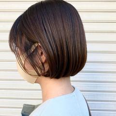 オフィス ナチュラル 髪質改善 ミニボブ ヘアスタイルや髪型の写真・画像