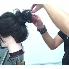 フェミニン 色気 リラックス セミロング ヘアスタイルや髪型の写真・画像