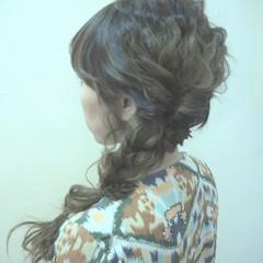 ヘアアレンジ かわいい ロング 二次会 ヘアスタイルや髪型の写真・画像