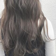 透明感 外国人風 ハイライト ナチュラル ヘアスタイルや髪型の写真・画像
