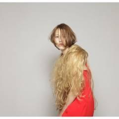 フェミニン ウェットヘア 大人女子 ボブ ヘアスタイルや髪型の写真・画像
