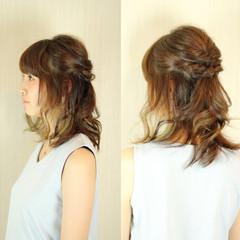セミロング ショート アッシュ 大人かわいい ヘアスタイルや髪型の写真・画像