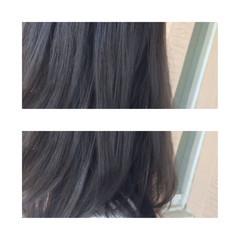 ナチュラル セミロング ハイライト ダブルカラー ヘアスタイルや髪型の写真・画像