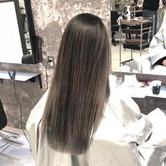ロング 外国人風 外国人風カラー バレイヤージュ ヘアスタイルや髪型の写真・画像